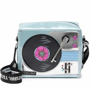 Betsey Johnson Kitsch Record Player Crossbody